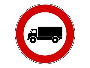 divieto circolazione veicoli industriali