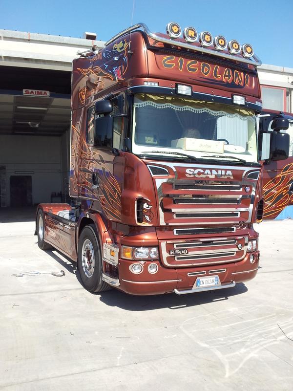 Vuoi personalizzare il tuo scania veicoli industriali blog - Foto di grandi camion ...