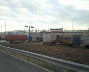 blocco svincolo autostrada andria barletta