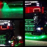 Luci a led per camion: creare un'opera d'arte su gomma!
