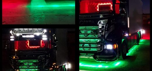 luci a led camion